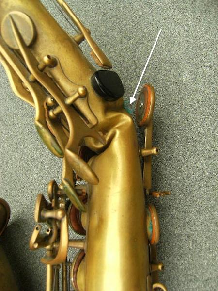 Saxophone repair