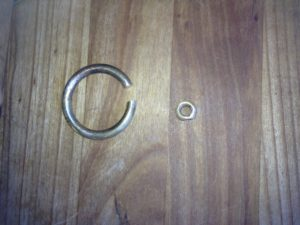 Selmer Mk6 bell ring replacement.