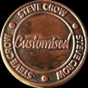 Steve Crow badge